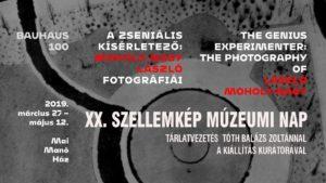 XX. Szellemkép Múzeumi Nap Moholy tárlatvezetés