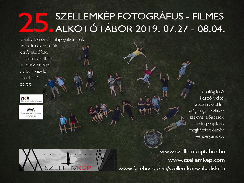 25. SZELLEMkép fotós filmes alkotótábor