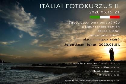 Itáliai fotókurzus - Olaszországi fotótábor a Szellemkép szervezésében